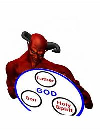 تثلیث آموزهای شیطانی
